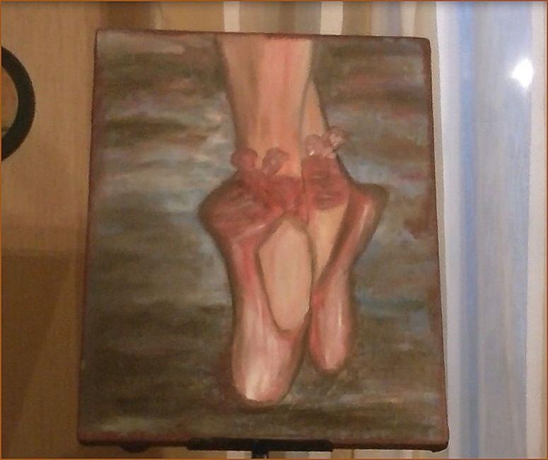 Petits chaussons de danse